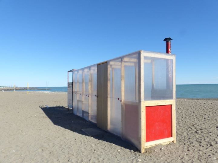 Toronto The Beaches sauna