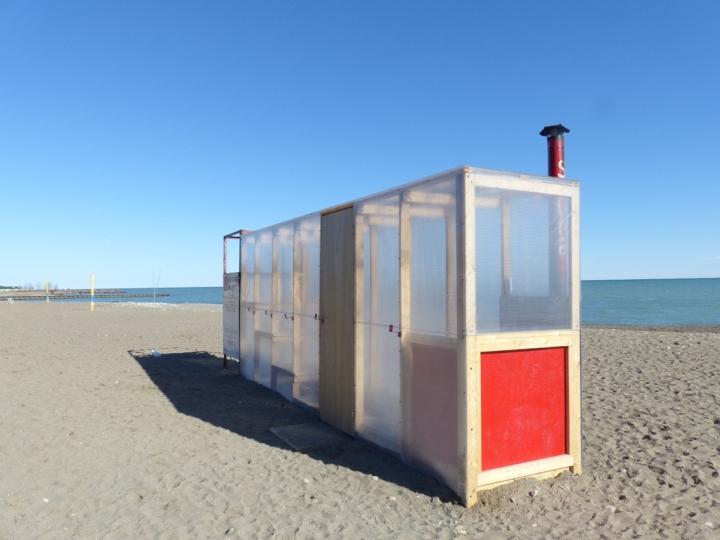 Toronto The Beaches sauna