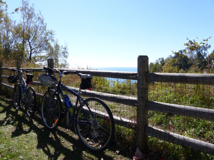 Cycling Scarborough Bluffs