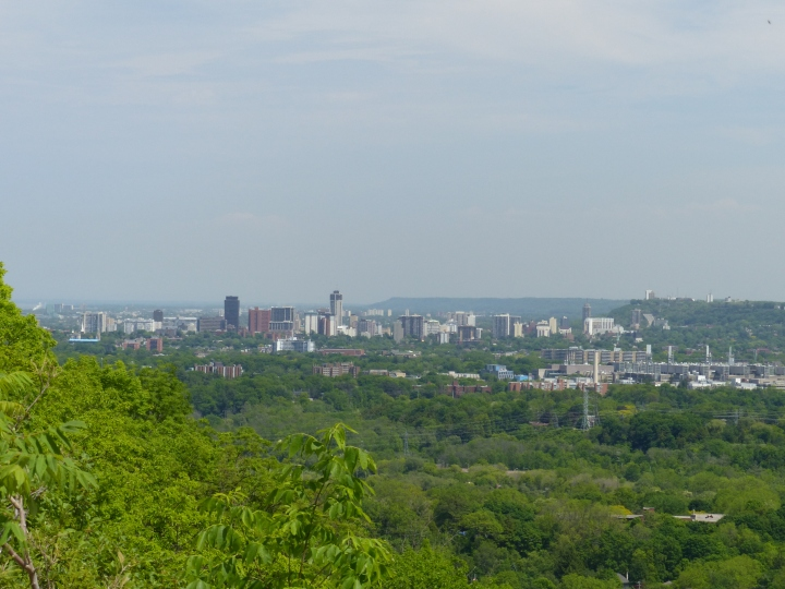 Dundas Peak view of Hamilton