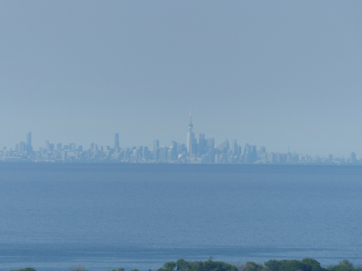 Toronto from Devil's Punchbowl