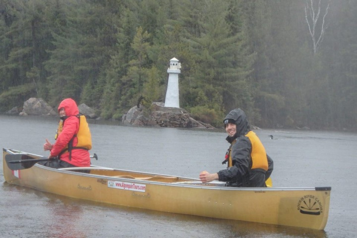 Canoeing at Algonquin Park