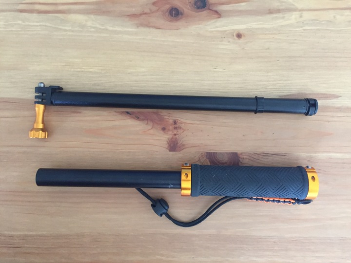 XShot Sport Camera Extender Pole broken