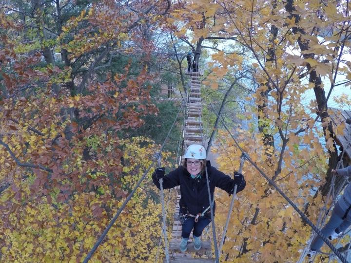 Treetop Trekking Brampton XShot Sport review