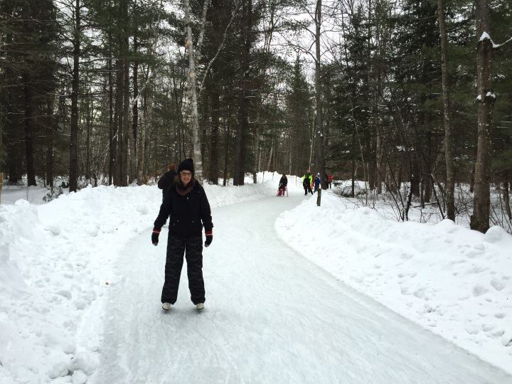 Arrowhead skating Emma