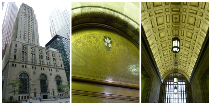 Commerce Court North Doors Open Toronto