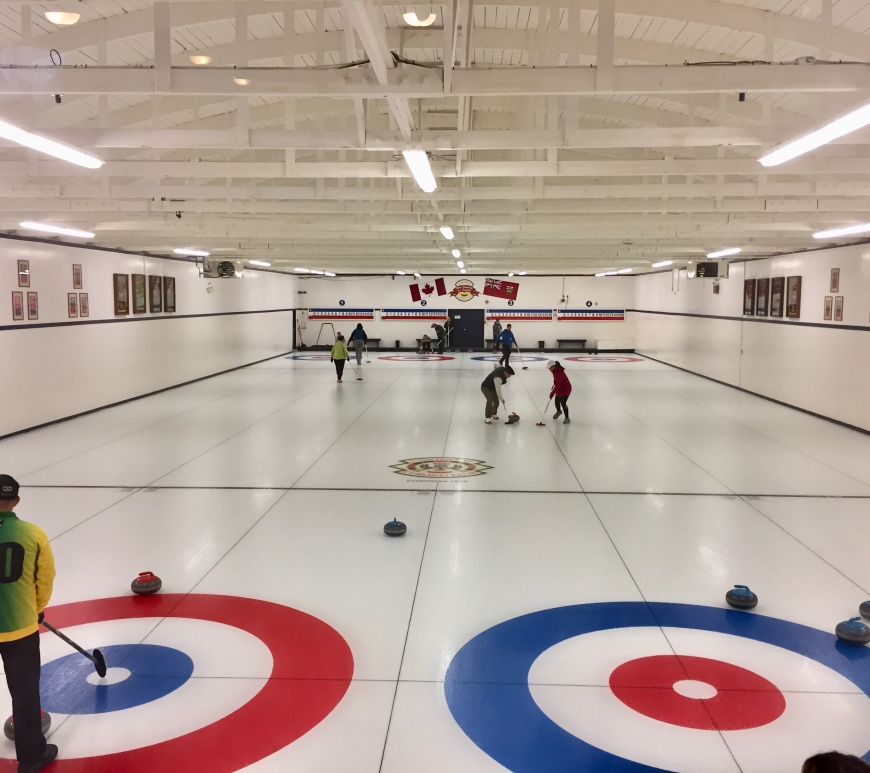 Inside Unionville Curling Club - an introduction to curling