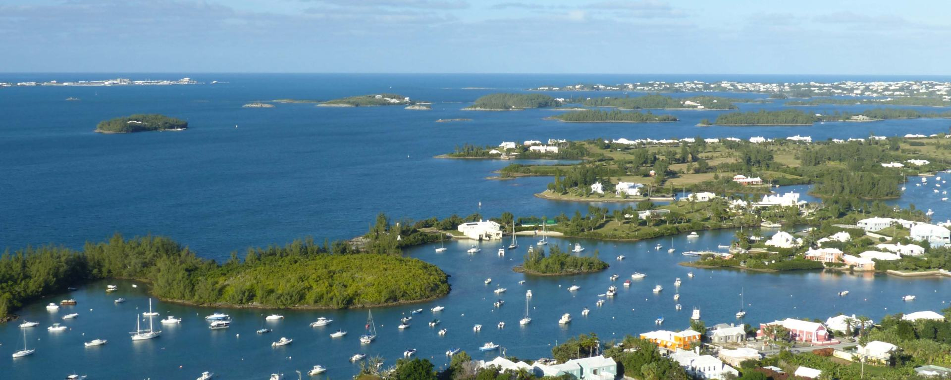 Bermuda Railway Trail view from Gibbs Hill Lighthouse